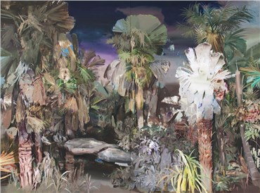 , Hamid Yaraghchi, Waq-Waq Trees Wail Out of Fear, 2020, 30446