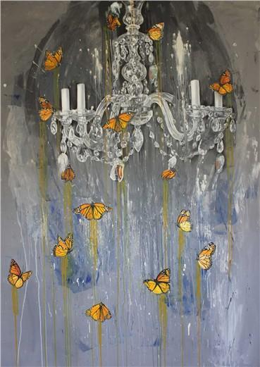 , Mina Anoushe, Through the Yellow Cocoon of Light, 2014, 13740