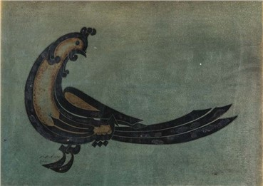 , Reza Mafi, Devine Bird, 1975, 6038