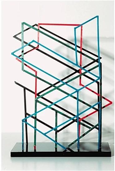 Sculpture, Monir Shahroudy Farmanfarmaian, Variation on Hexagon , , 24522