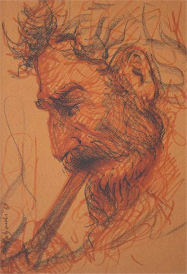, Hossein Mahjoubi, Untitled, 1988, 8974