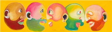 , Reihaneh Hosseini, Five Head, 2020, 34768