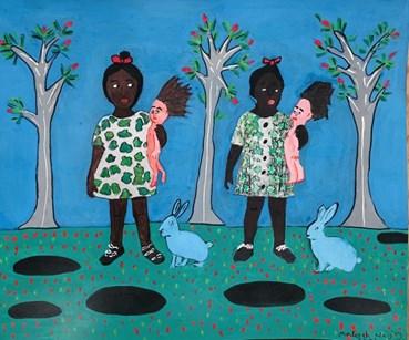 , Malekeh Nayiny, Rabbit Holes, 2021, 44589