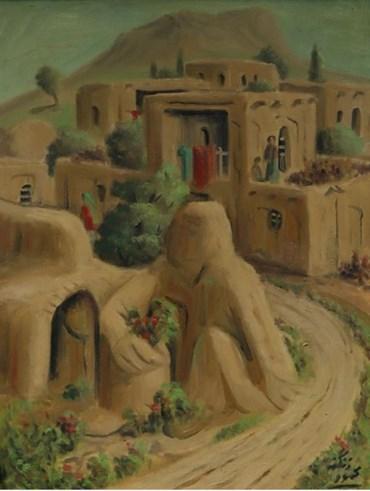, Mahmoud Zangeneh, Waiting, 1991, 48192