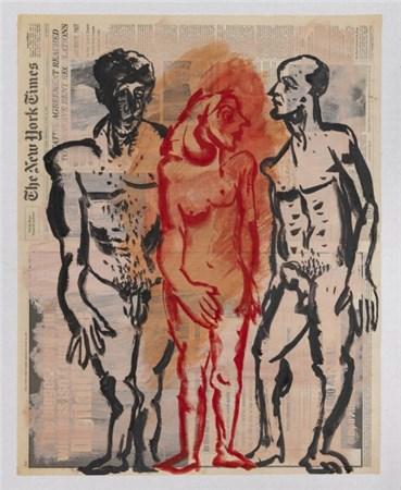 Painting, Nikzad Nodjoumi, New York Times, Monday, June 16, 1997, 1997, 1997, 28989