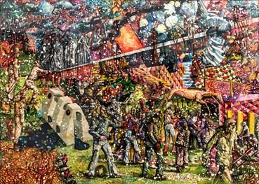 , Behrang Samadzadegan, The Triumph of Death, After Pieter Bruegel, 2021, 45551