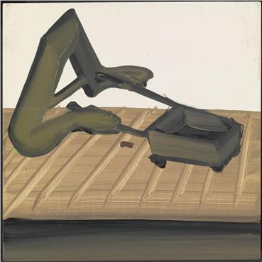 Painting, Tala Madani, A With Wagon, 2010, 19770