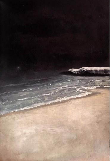 Painting, Najmeh Kazazi, Untitled, 2020, 47456