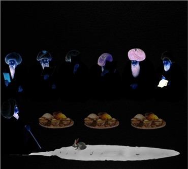 , Farideh Lashaii, Keep Your Interior Empty of Food that You Mayest Behold Therein the Light of Interior , 2012, 5860