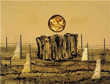 , Behjat Sadr, Untitled, 1987, 38325