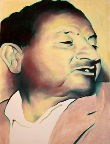 Painting, Sepehr Hajiabadi, Portrait of Teieb, 2020, 49643