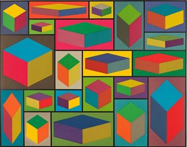 , Sol LeWitt, Distorted Cubes (C), 2001, 49187