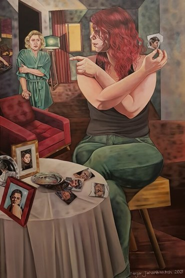 , Negar Jahanbakhsh, Untitled, 2021, 44747