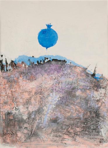 , Hossein Kazemi, Untitled, 1984, 4647