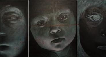 Painting, Mojtaba Tabatabaei, Inconveniences, 2008, 13147