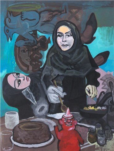 , Sadra Baniasadi, Recipe (Dastoor Pokht), 2019, 22638
