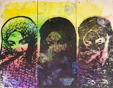 , Nahid Haghighat, Three Women, 2015, 46078