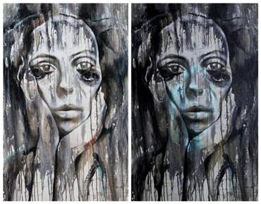 , Saeed Khavarnejad, Visage De Femme, 2013, 13180