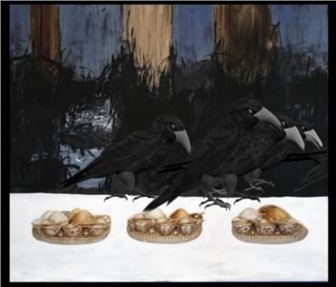 , Farideh Lashaii, Keep Your Interior Empty of Food..., 2012, 5866