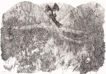 , Niloofar Kasbi, Bird and Flower, 2020, 47643