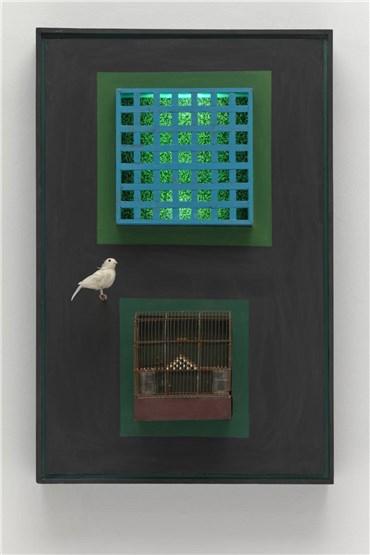 Mixed media, Parviz Tanavoli, Cage, Cage, Cage, 1966, 21536