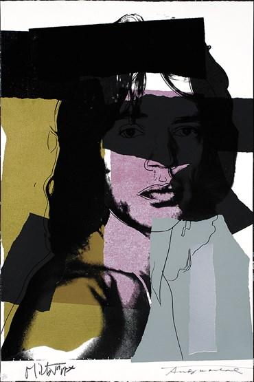 Andy Warhol, Mick Jagger, 1975, 0
