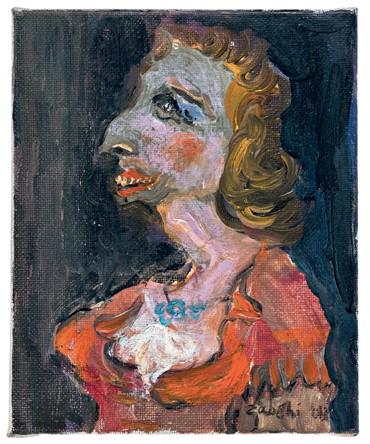 Painting, Hoseinali Zabehi, Crossdresser, 2013, 10777