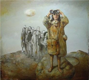 Painting, Davood Zandian, Untitled, , 24019