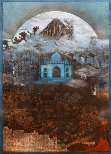 , Homa Bazrafshan, Blue Dome, 2014, 23880