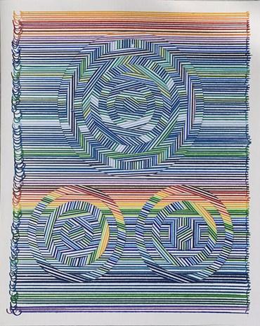 , Hadieh Shafie, Draw - Cut - Rotate 16, 2019, 51067