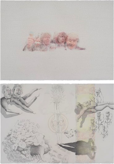 """, Nogol Mazloumi, Look at the picture and tell the differences or Fuseli's """"Nightmare"""" became true, 2021, 48109"""