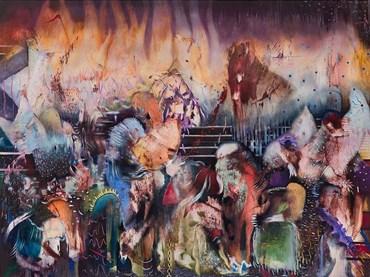 , Ali Banisadr, Untitled, 2021, 40738