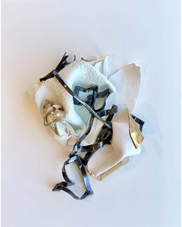 , Aida Izadpanah, Self Portrait in Profile, 2020, 28621
