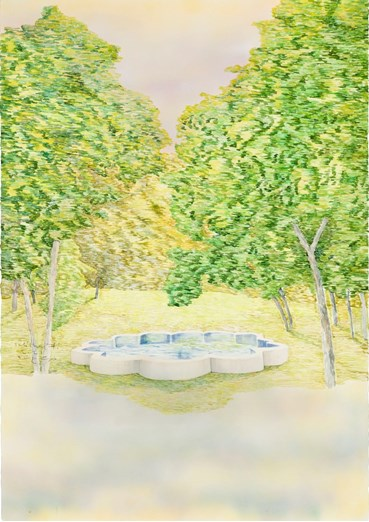Painting, Sale Sharifi, In The Privacy of the King's Garden, 2021, 49599