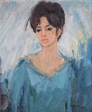Painting, Mehdi Vishkaei, Untitled, 1963, 6024