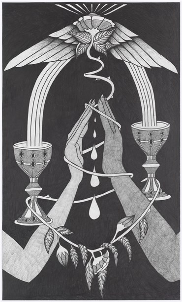 , Afruz Amighi, Two of Cups, 2019, 20250