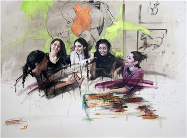 Works on paper, Soudeh Davoud, Wednesday Break, 2015, 3792