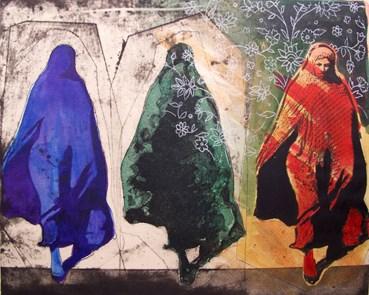 , Nahid Haghighat, Purple Woman, 2015, 46077