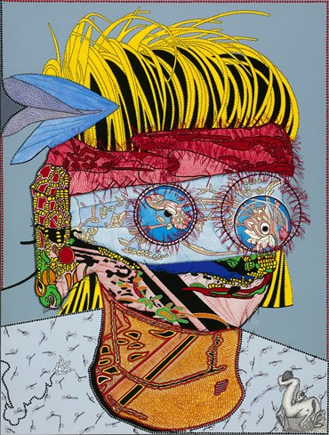 , Franklin Williams, Fez Feeds Lovable Beauty, 2020, 47763