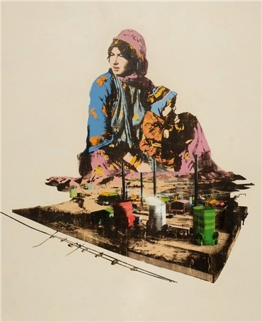 , Amin Roshan, For Mother Earth, 2013, 2422