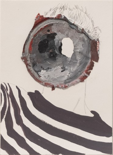 , Hesam Rahmanian, Absent Minded Geometry, 2018, 19665