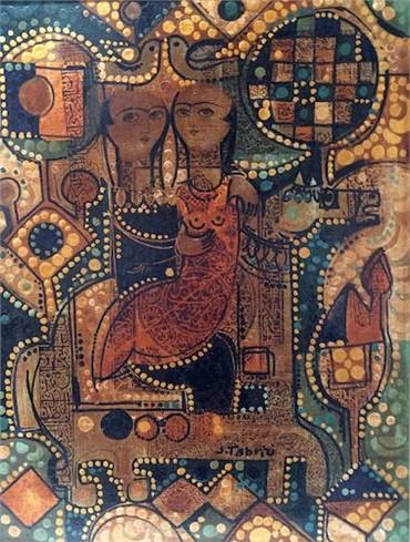 Painting, Sadegh Tabrizi, Saqqa-Khaneh, , 15192
