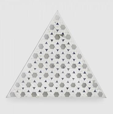 , Monir Shahroudy Farmanfarmaian, Untitled Triangle 2, 2016, 42500