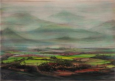 , Hossein Mahjoubi, Untitled, 1988, 14527