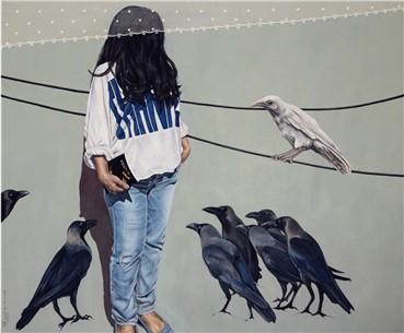 , Zeynab Movahed, Self Portrait, 2016, 12312