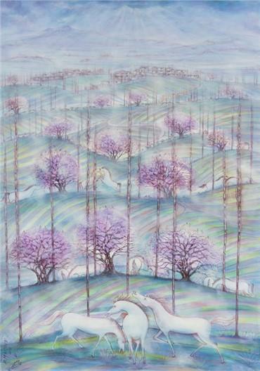, Hossein Mahjoubi, Spring Memory in the Koohin, 2012, 7953
