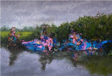, Darvish Fakhr, River Ride, 2015, 2982