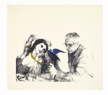Printmaking, Parviz Tanavoli, Farangi Women & Me, 2014, 29246