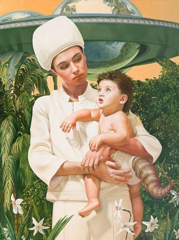 , AES+F, Allegoria Sacra. Angel and Child (study), 2020, 49135