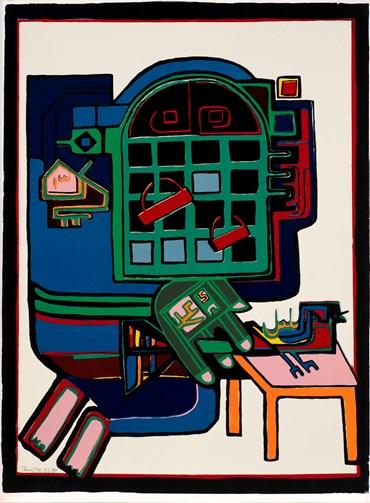 , Parviz Tanavoli, Oh! Nightingale, 1974, 42073